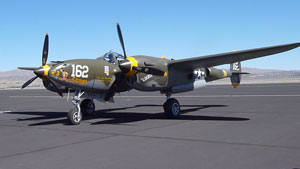 P-38 Lightning at Reno-Stead Airport