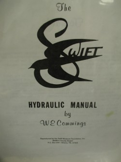 Globe Swift Hydraulic Manual