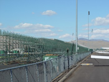 Reno Air Races Set-up