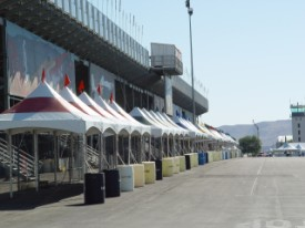 Reno Air Race Preparations - Vendor Tents