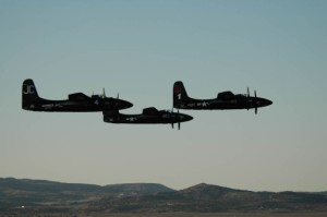 Grumman F7F Tigercats at 2008 Reno Races. (Photo:Joanne Murray)