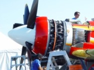 Up close with a Pratt & Whitney engine!