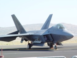 F-22 Raptor, 2008 Reno Air Races