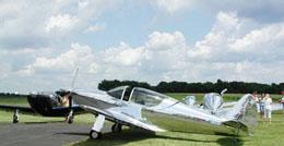 Globe Swift sliding canopy conversion.