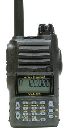 Vertex VXA-220 Comm from Chief Aircraft.