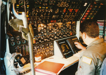 Lockheed C-5B Flight Engineer Panel Panel