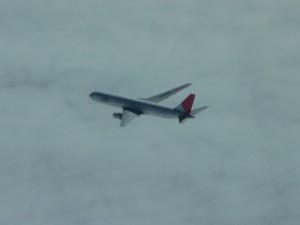 JAL Boeing 767 at FL 370