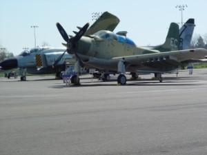 Douglas A-1E Skyraider