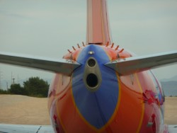 Boeing 737 tailcone