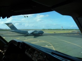 C-17 in Honolulu, Hawaii.