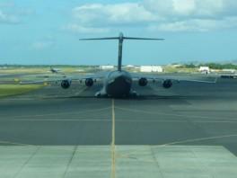C-17 in Honolulu Hawaii.