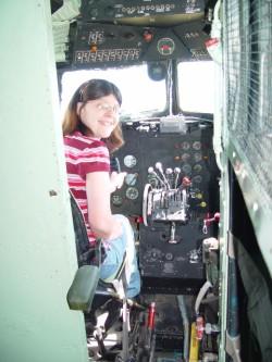 Cockpit view  Douglas C-53 Skytrooper