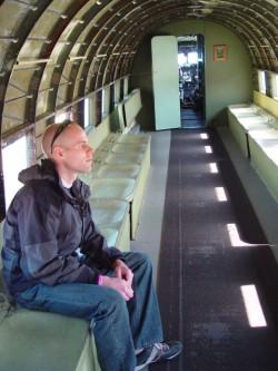 Fuselage view Douglas C-53 Skytrooper