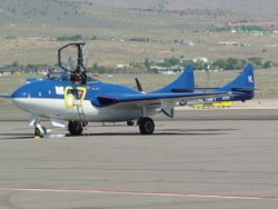 A jet racer at the 2009 Pylon Racing School, Reno-Stead, NV.