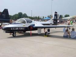 USAF Cessna T-37 jet trainer.