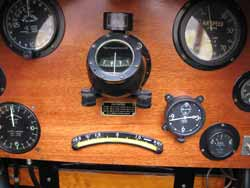 1918 Curtiss Jenny Instrument Panel