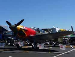 P-40 racer.