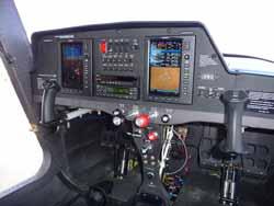 Cessna Skycatcher instrument panel.
