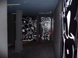 The hallway alcove to my room.