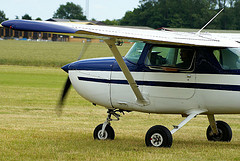 Cessna training aircraft.