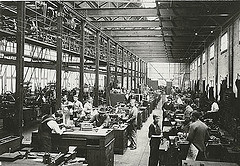 1926 tram workshop.