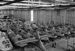 Consolidated Aircraft factory in San Diego November 1940.