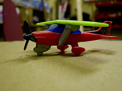Toy Airplane. photo credit Flickr, CC:http://www.flickr.com/photos/elsie/2138838645/
