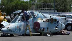 A new aircraft restoration project at Reno-Stead.