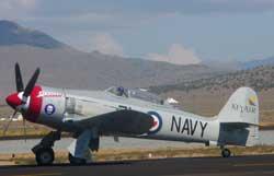 Hawker Sea Fury, Race 71