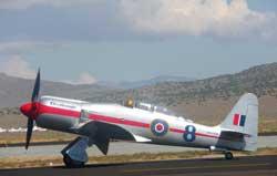 Hawker Sea Fury, Race 8