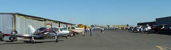 Colusa Fly-in Parking