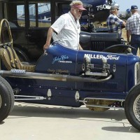 Miller Ford antique racer.
