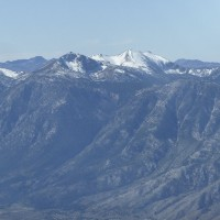 Freel Peak southeast of Lake Tahoe.