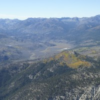 Looking southwest toward Sonora Pass.