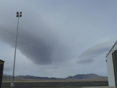 Standing waves over Reno-Stead.