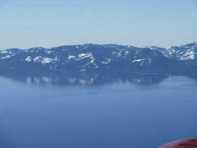 Lake Tahoe on a calm day.