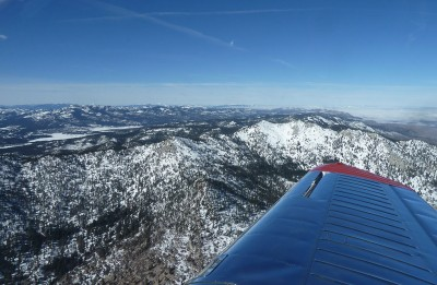 Level Flight West of Reno-Stead
