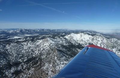 Level Flight West of Reno-Stead