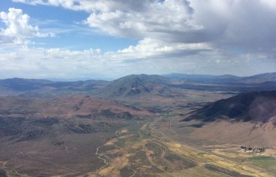 That is Fred's Mountain in the middle of the photo, looking SE with Reno-Stead down the valley to the right.