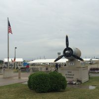Saturday before AirVenture, low clouds and drizzle.