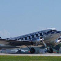 Douglas DC-3 on departure.