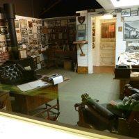 Museum Earnest K. Gann Study exhibit.