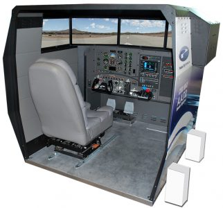 Precision Flight Controls CRX Max Advanced Aircraft Training Device (AATD)